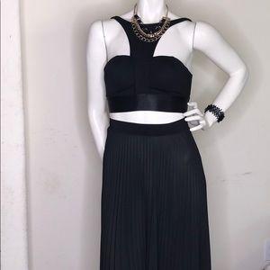 Two peace beautiful black dress